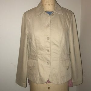 Monsoon twill cotton jacket